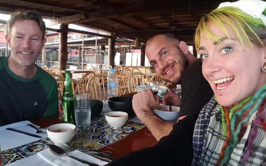 Day 8: A friend visits us in Mexico